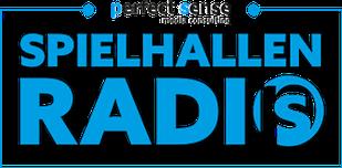 "Grafik: ""Logo SPIELHALLEN RADIO""   Copyright by perfect sense media consulting - Piet [Peter] Braun, Hamburg"