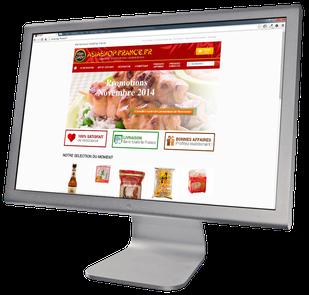 Site internet Asia-Shop France