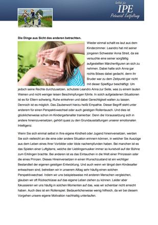 """Themenletter Mai 13  """"Rollenspiel"""""""