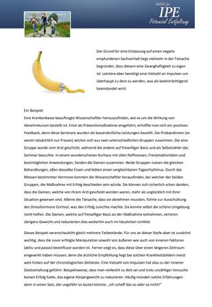 """Themenletter November 12  """"Anker werfen"""""""
