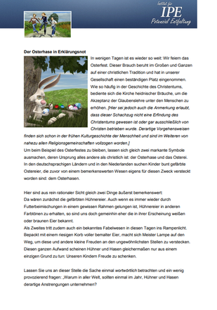 """Themenletter März 13  """"Ein schwieriger Fall"""""""