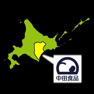 図:北海道と企業ロゴ