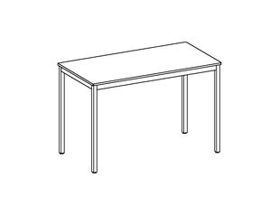 room³ Tisch mit Linoleum Oberfläche