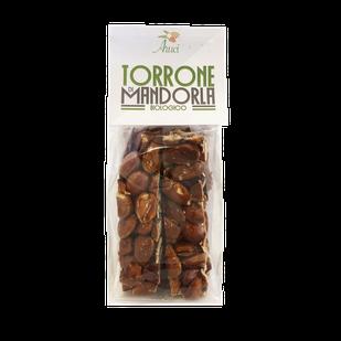 Sizilianischer Mandel-Nougat BIO 100g Torrone Siciliano alle mandorle BIO 100g