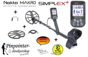 Metalldetektor Nokta Simplex+
