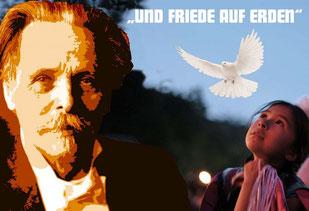 """Mit dem Motto """"Und Friede auf Erden"""" widmen sich die diesjährigen Festtage vor allem Karl May als Friedensbotschafter. In seinem gleichnamigen Werk aus dem Jahr 1901 betont er die Bedeutung der Nächstenliebe und des friedlichen Umgangs miteinander."""