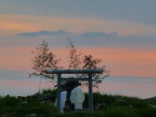 夕日の祭り 8月7日