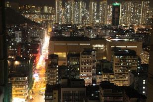 vue de notre appartement