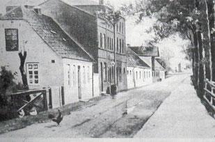 Tabakfabrik Nikolaus Wilkens am Steindamm, Blickrichtung Süden (ca. 1870)
