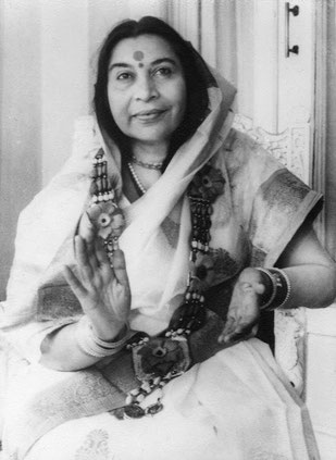 Shri Mataji in den frühen 1970er Jahren