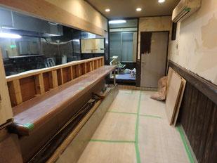 パイン工房多摩地区立川市 店舗のリフォーム工事