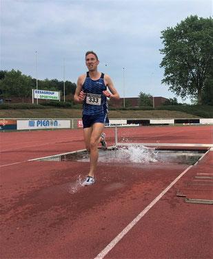 Stefan Ritte stellte mit 9:18,64 Minuten den Vereinsrekord von Malte Stockhausen ein.