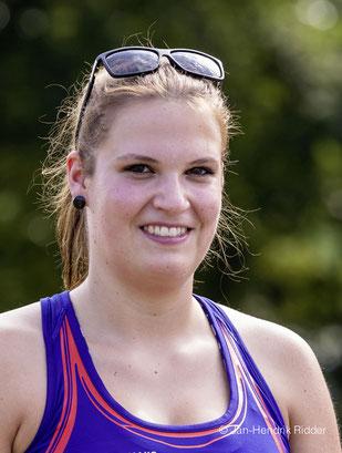 Die letzten U23-Meisterschaften beendete Maximiliane Langguth mit 52,01 Metern und dem fünften Rang. (Foto: Jan-Hendrik Ridder)