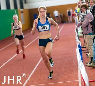 Katrin Boche holte im vergangenen Jahr die Vizemeisterschaft im 60-m-Sprint der weiblichen U20 bei den Nordrhein-Hallenmeisterschaften. (Foto: Jan-Hendrik Ridder)