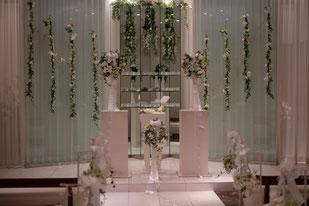 結婚式の装飾例