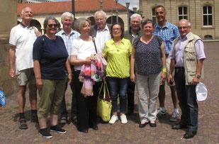 Zufriedene Teilnehmer unserer Exkursion nach Stuttgart