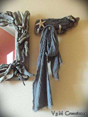 barco madera, cuadro barco, driftwood art, cuelga llaves, organizador bisutería, cuadro pintado a mano, artesanía asturiana, mandala, eco desing, diseño ecológico, decoración ecológica, perchero rustico