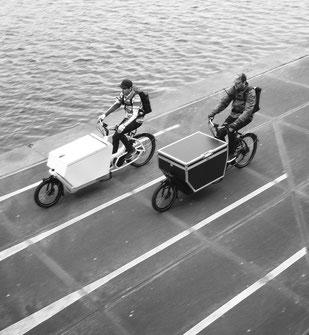 In Ahrensburg können Sie sich verschiedene Extras zu Ihrem Lasten e-Bike ansehen.