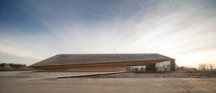 Das neue Wattenmeercenter in Vester Vedsted. Foto: Adam Mørk/Vadehavscentret/PR