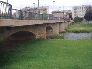 Uno de los puentes de Nájera