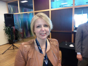 Andrea Gruber, Senior Manager Special Cargo IATA  -  picture: ms