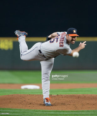 Nella foto Justin Verlander (Getty Images)