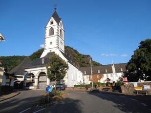 Kloster Bornhofen ist ein Franziskanerkloster mit Marien-Wallfahrtskirche