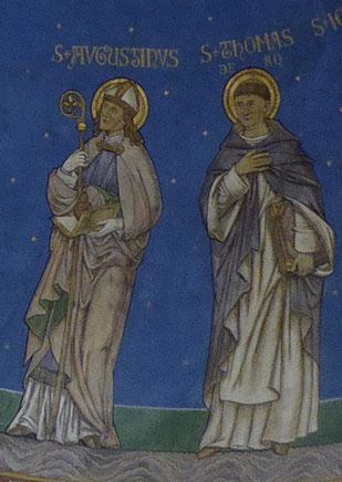 Augustinus van Hippo en Thomas van Aquino