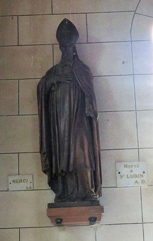 Statue sur l'Esplanade de Lourdes.