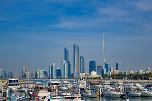 Abu Dhabi, UAE, VAE, Vereinigte Arabische Emirate, Downtown, Wolkenkratzer