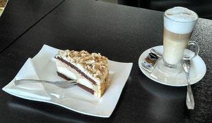 Kaffee Pause im Cafe Calinda