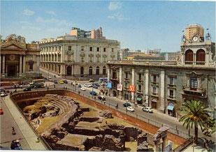 Anfiteatro romano visto dall'alto