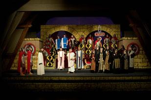 Fotos: Szenen der Passionsspiele 2009 (Fotonachweis: Foto Hailer Neumarkt)