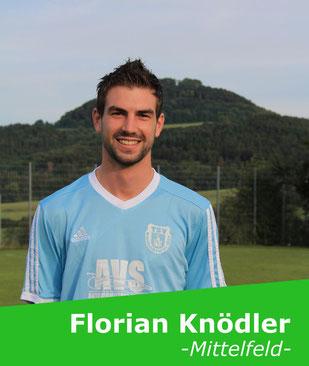 +++ Wagt sich nach zweimonatiger Verletzungspause am Sonntag an sein Comeback: Florian Knödler +++