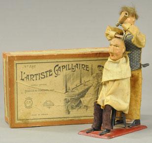 """L'Artiste Cappillaire"" $ 7.200"