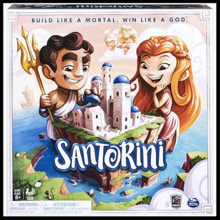 Brettspiel Santorini im Test