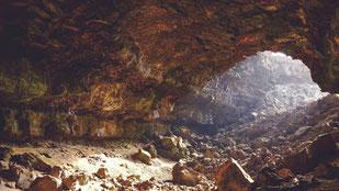 Cueva funeraria prehispánica. Foto: phere.com