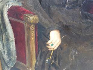 Ausschnitt aus dem Portrait von W. Herz.