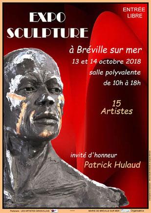 Exposition de sculptures - Bréville-sur-Mer - 13 et 14 octobre 2018