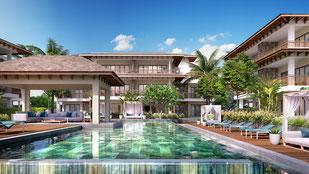 Nouvelle résidence PDS L'HARMONIE appartements île Maurice Rivière Noire