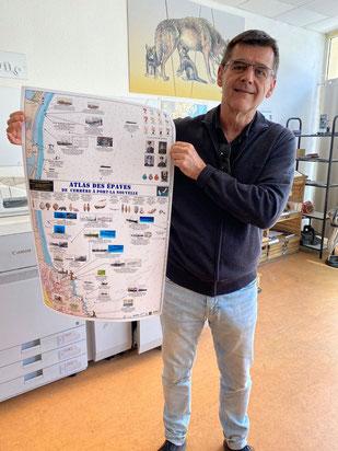 François Brun présente son poster