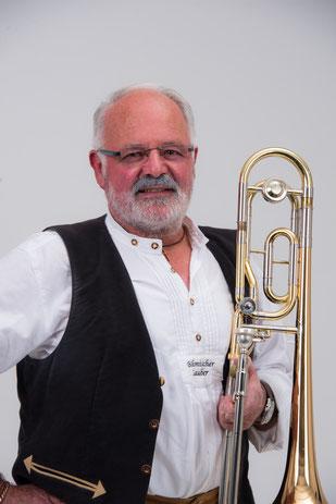 Walter Dörr, Posaune