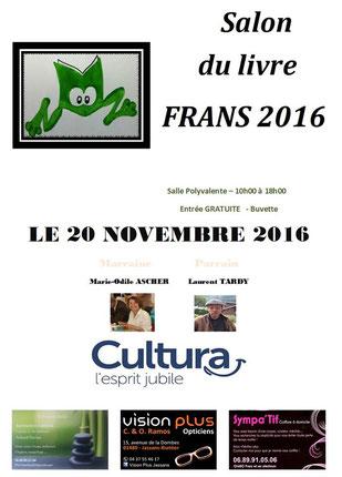 L'illustratrice Cloé Perrotin participe au Salon du Livre de Frans 2016