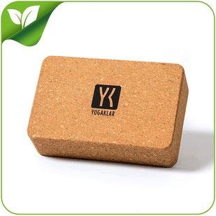 Yogablock aus Naturkork – ein umweltfreundlicher, rutschfester und nachhaltiger Yogaklotz für zahlreiche Anwendungen – STARTKLAR für YOGA!