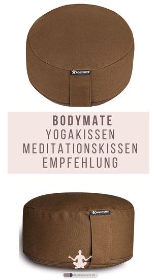 Empfehlung BODYMATE Yogakissen - Meditationskissen – Sitzkissen: Ihr idealer Begleiter im Studio und für zu Hause