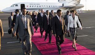 Bundesrätin Simonetta Sommaruga besucht Äthiopien
