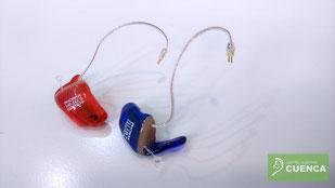 Micromoldes acrílicos para audífonos. Centro Auditivo Cuenca.
