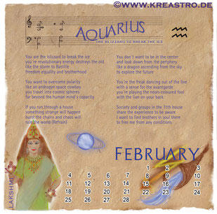 Cosmologia Booklet - Aquarius