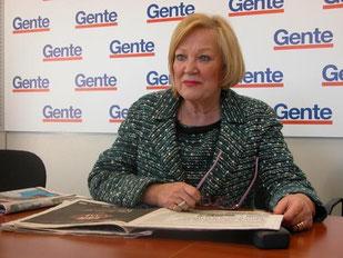 Imagen de la entrevista que Torralba concedió al periódico Gente