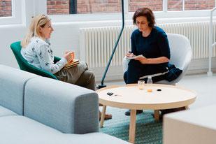 Gesprächstherapie halte ich für eine Behandlungsmethode, die viel Geduld erfordert